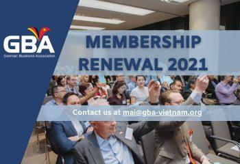 Membership Renewal on website