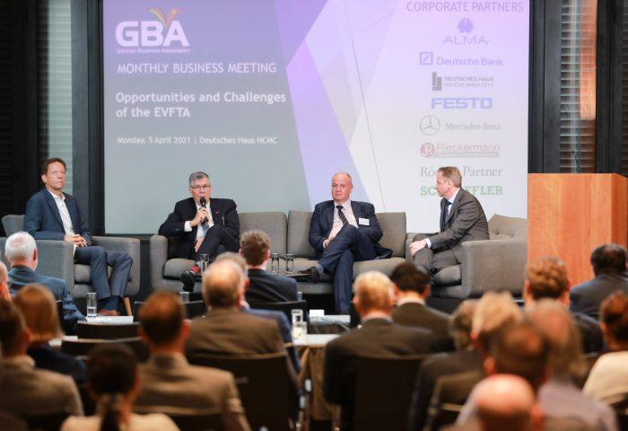German Business Association GBA Vietnam Event Monthly Business Meeting Deutsches Haus HCMC
