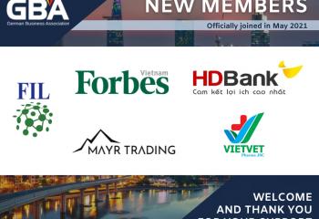 GBA German Business Asociation Vietnam New Members in May 2021