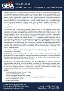 GBA German Business Association Vietnam
