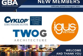 German Business Association GBA New Members August 2021